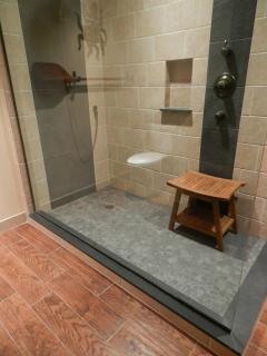 Master Bath - Rain Shower