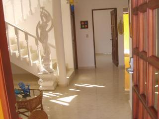 Dancing Maiden Greets You As You Enter Villa Leone