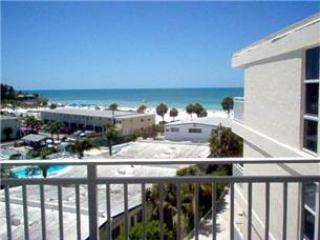 Impressive Gulf View 2BR with balcony, TV/DVD #507GV, Sarasota