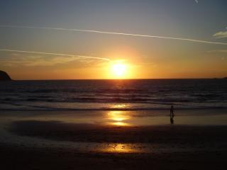 INCREDIBLE SUNSETS, FOR  ROMANTIC WALKS ON THE BEACH! Or just watch from one of many happy hours !