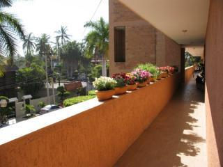 This galeria outside our units  front door is a great outdoor addition...sunny mornings here !