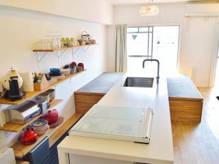 Riverside Designer family Apt nr Namba, Dotonbori, Osaka