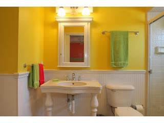 De luxe master badkamer