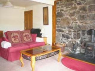 Large Lounge with wood burning stove