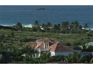 Villa overlooking Orient Beach