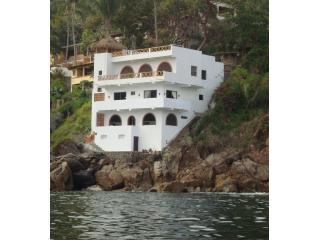 Casa Tassia at Mar y Sol Villas ... the absolute best location in Yelapa.
