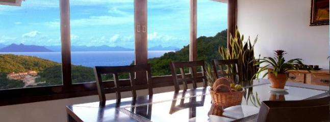 DINING AREA: With view