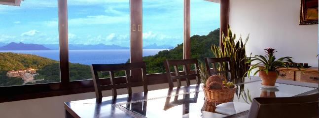 DINING AREA: with a view
