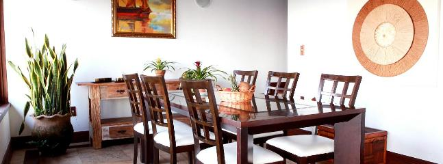 DINING AREA: Seen from the living room