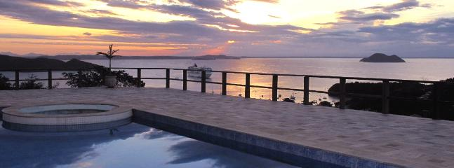 SUNSETS: Pool by sunset shot by the photographers wife