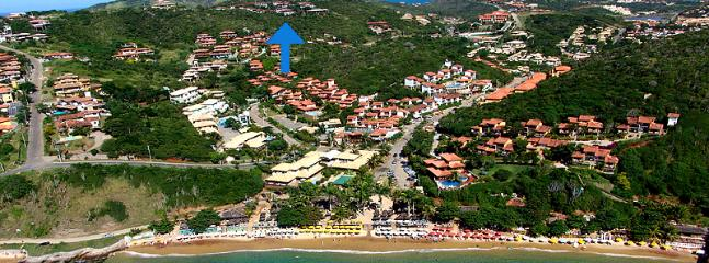 SURROUNDINGS: Location of Casa Vista Azul, Buzios