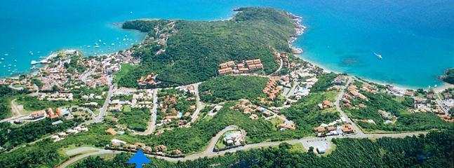 SURROUNDINGS: Location of Casa Vista Azul, Buzios