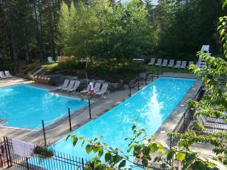 Tremblant Resort Holiday rental - ski, spa and golf condo with spectacular view