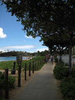 Ka\'anapali Beachside walking path