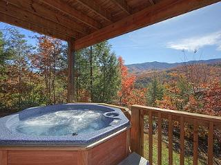 Secluded 2 Bedroom Cabin with Fabulous Views of the Great Smoky Mountains, Gatlinburg