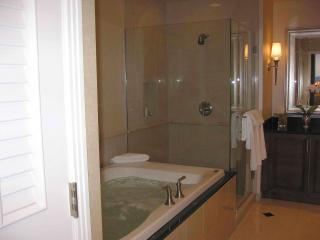 MB Jacuzzi whirl pool jetted bath tub and shower stall