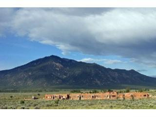Condo #25 - the left end.  Sacral Taos Mt. in distance
