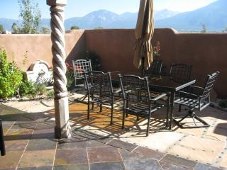 Rear Patio with Mt. views