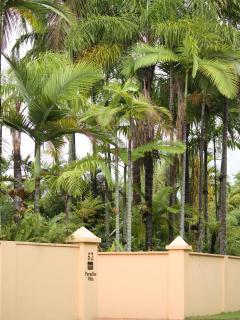 Paradise Villa Entrance