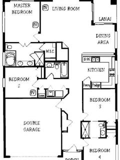 Layout of Villa