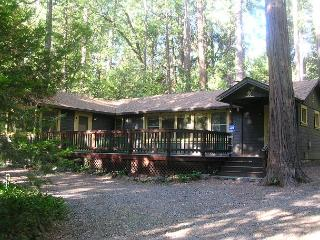 Charming 'Twain Harte Original' cabin- deck, kitchen, BBQ, handicap access