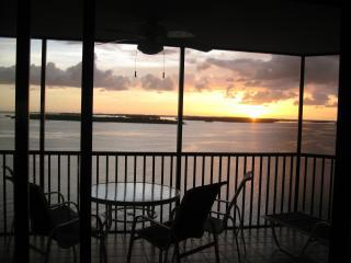 Sunset from the Screened In Lanai