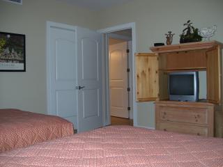 second bedroom, view towards hallway