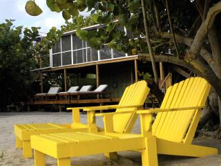 Seagrape Escape: Bright Breezy BEACHhouse w/ Wifi!, Placencia
