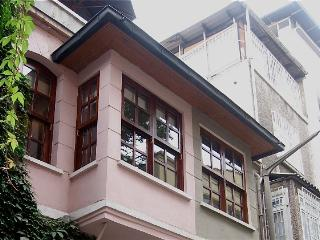 top two floors of characterful ottoman house, Istanbul