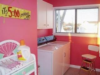 Laundry area with washer and dry in your townhouse just for you