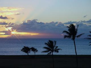 Sunset From Lanai - Enjoy a cocktail right from your Lanai and watch the beautiful Molokai Sunsets