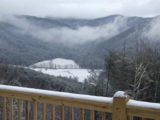 Acurrucarse en una de las bandejas mientras disfrutas de la vista del invierno!