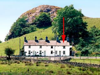 CARREG GLEISION, pet friendly, character holiday cottage, with open fire in
