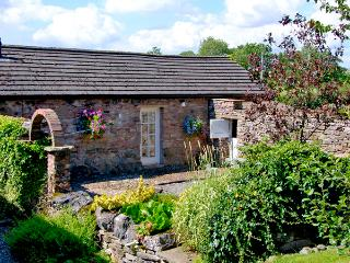 CHERRY TREE COTTAGE, pet friendly, country holiday cottage, with a garden in