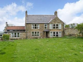 LIVERTON LODGE, pet friendly, character holiday cottage, with a garden in, Danby