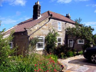 THE PIGGERY, pet friendly, luxury holiday cottage, with a garden in Sleights, Ref 1414
