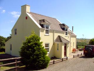 TREWEN, pet friendly, character holiday cottage, with a garden in Roch, Ref 2044