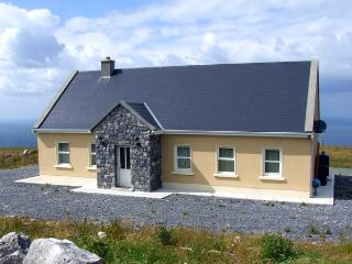 VIEW OF THE BURREN, country holiday cottage, with a garden in Fanore, County