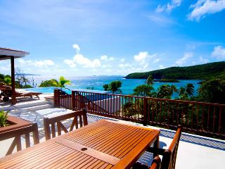 Beachfront Plantation House - IJEOMA Panorama, Bequia