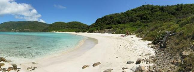 YES, you can be the only ones on the beach in Virgin Gorda!  I'll share my tips with you.
