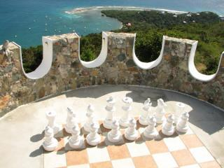 Chess on the parapets