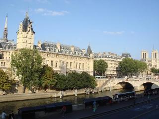 1 Bedroom Riverfront Apartment view of Notre Dame, Parijs
