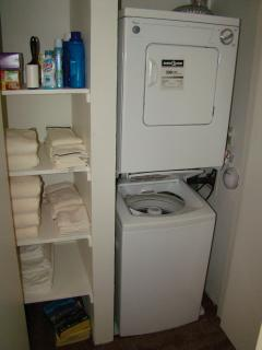 Apartment style laundry
