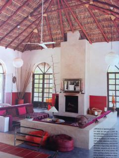 Picture of living room in 'living' magazine