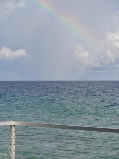 Rainbow over the Deck