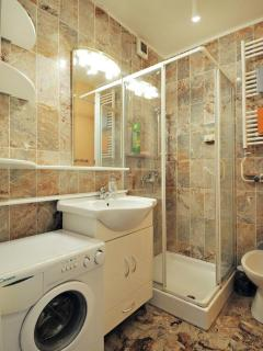 Small bathroom with washing machine - NEW one, no photos yet :-)