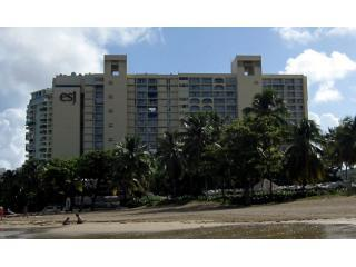 ESJ Towers on the beach of Isla Verde