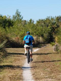 Biking in the Bailey Tract