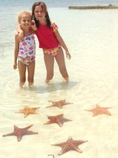 the  girls at Starfish Point