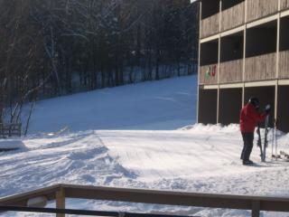 Brookside & Fall Line slopeside condos at Sunday River ski resort, Newry Maine